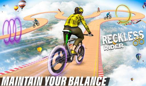 Télécharger Reckless Rider - Jeu gratuit Extreme Stunts Race apk mod screenshots 2