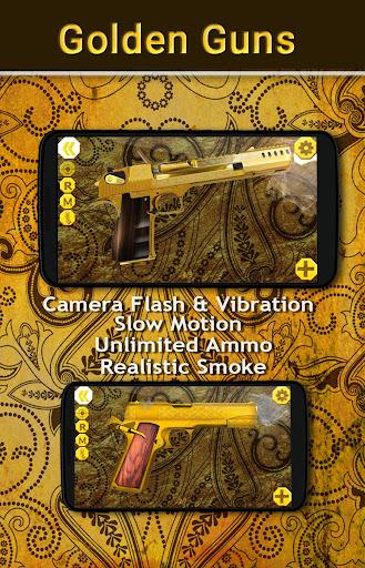 Golden Guns Weapon Simulator apkmartins screenshots 1