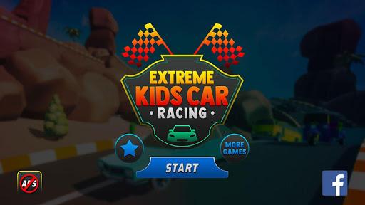 extreme kids car racing game 2020 screenshot 1