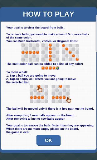 Color Lines: Match 5 Balls Puzzle Game  screenshots 3