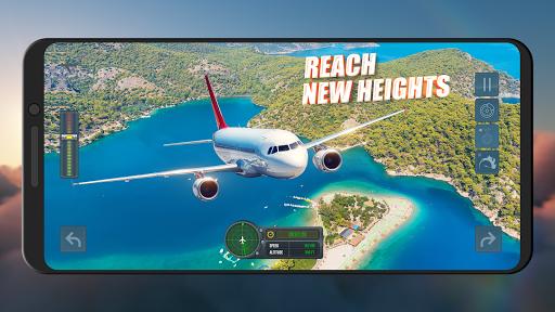 Flight Simulator 2021 ✈️ Airplane Games apklade screenshots 2