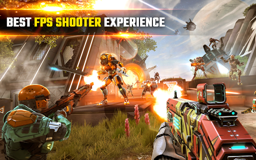 SHADOWGUN LEGENDS - FPS and PvP Multiplayer games apkpoly screenshots 9