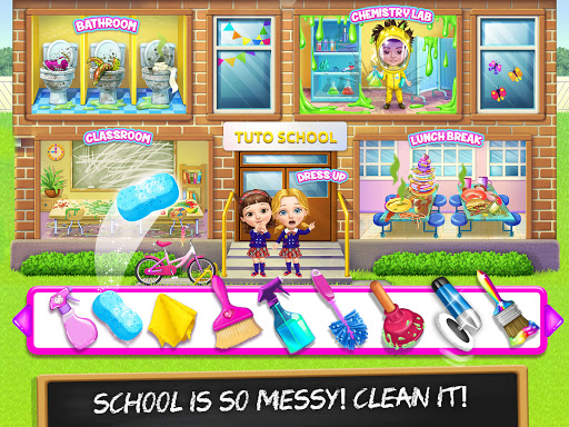 Sweet Baby Girl Cleanup 6 - School Cleaning Game  screenshots 9