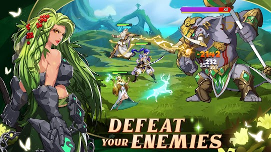 Mythic Heroes  Idle RPG Apk Download NEW 2021 4
