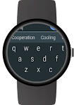 screenshot of Keyboard for Wear OS (Android Wear)
