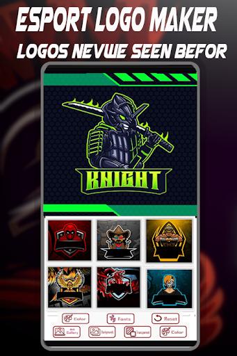 Logo Esport Maker | Create Gaming Logo Maker 1.4 Screenshots 4