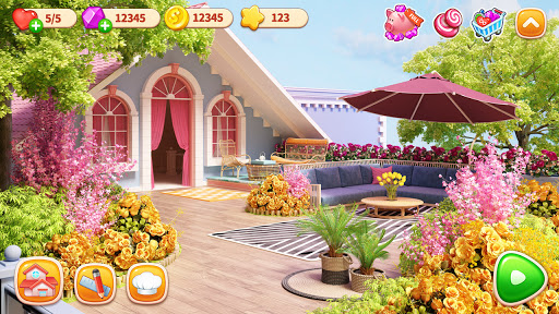 Cooking Home: Design Home in Restaurant Games 1.0.25 Screenshots 4