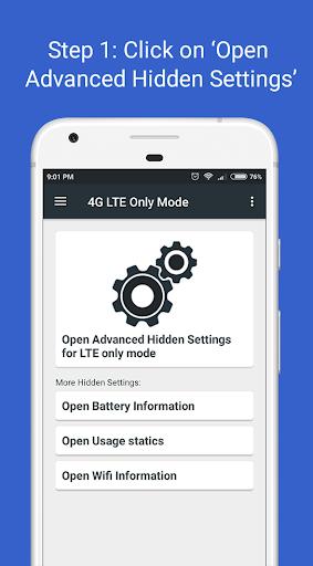 4G LTE Only Mode 2.2.1 screenshots 1