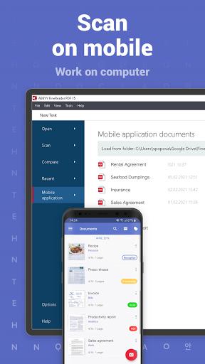 FineReader PDF Pro-PDF Document Scanner App + OCR