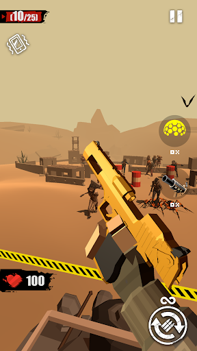 merge gun: shoot zombie screenshot 1