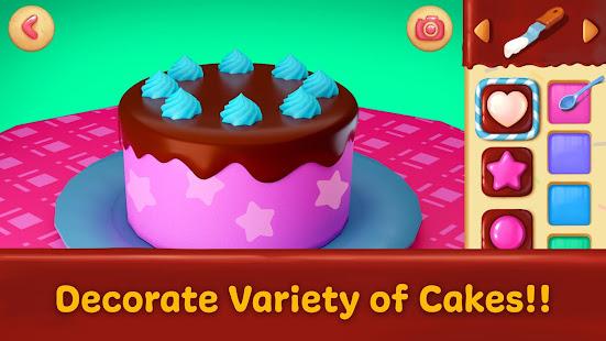 🎂 Cake maker - Unicorn Cooking Games for Girls 🌈 3 screenshots 1
