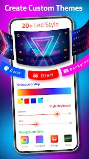 LED Keyboard - RGB Lighting Keyboard, Emojis, Font 6.1.19 Screenshots 3