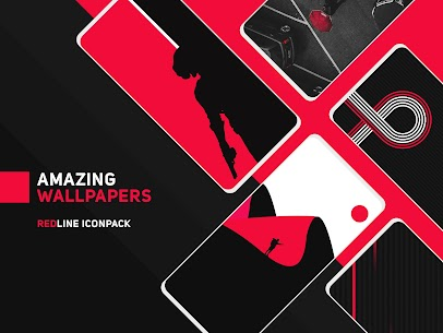 RedLine Icon Pack Pro Apk: LineX 2.7 (Patched) 8