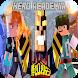 Mod My hero academia Minecraft - Boku no hero Skin