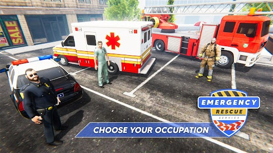 Emergency Rescue Service- Police, Firefighter, Ems 6