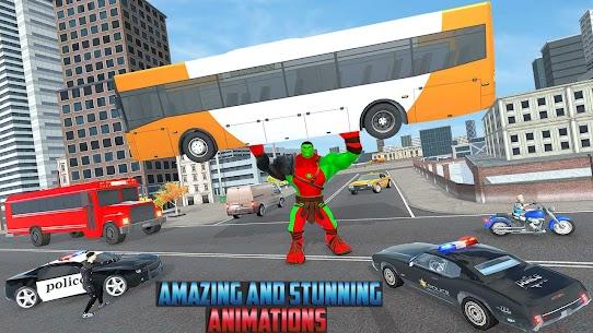 Incredible Monster Green Hero New City Battle 2021 3