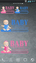 Baby Loading widget screenshot thumbnail
