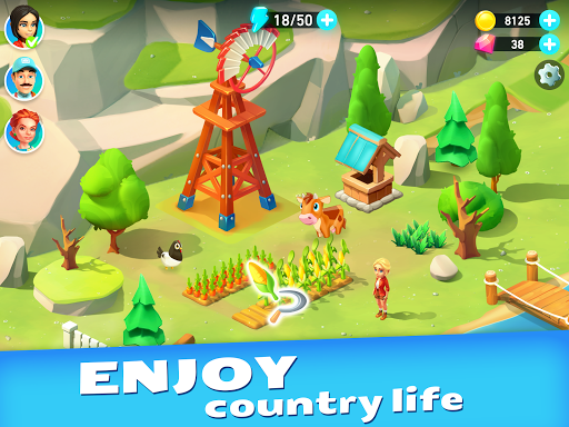 Goodville: Farm Game Adventure screenshots 13