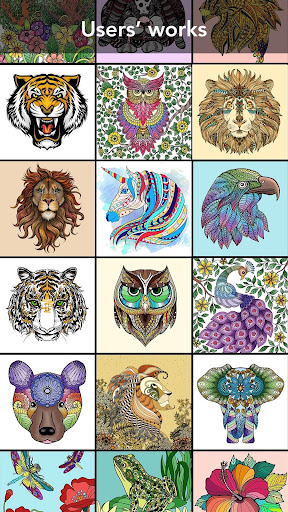 animal coloring book screenshot 3