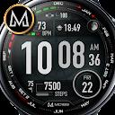 MD188 - Premium Digital Watch Face Matteo Dini MD