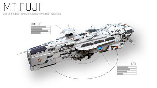 Ark of War - Dreadnought Apkfinish screenshots 8