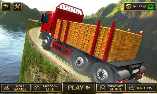Uphill Gold Transporter Truck Drive apkdebit screenshots 3