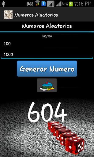 numeros aleatorios screenshot 3