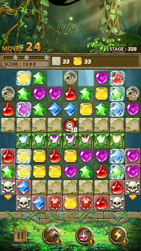 Jewels Jungle : Match 3 Puzzle apktram screenshots 14