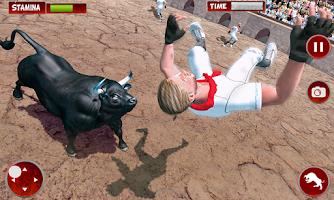 Angry Bull City Attack : Bull Simulator