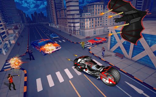 Flying Bat Robot Games: Superhero New Game 2021 screenshots 14