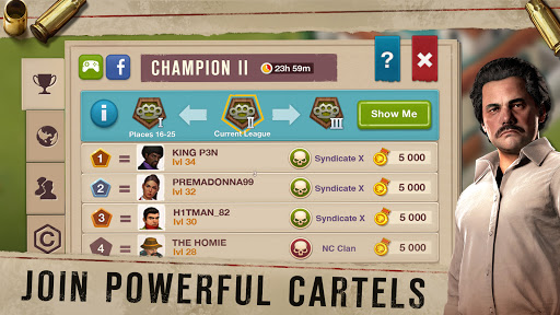 Narcos: Cartel Wars. Build an Empire with Strategy  screenshots 2