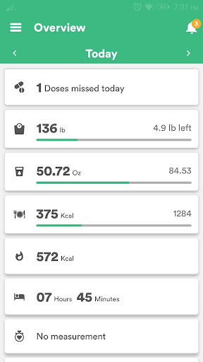 Health & Fitness Tracker with Calorie Counter  screenshots 1