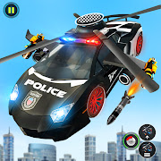US Police Car Helicopter Chase-City Shooting Game