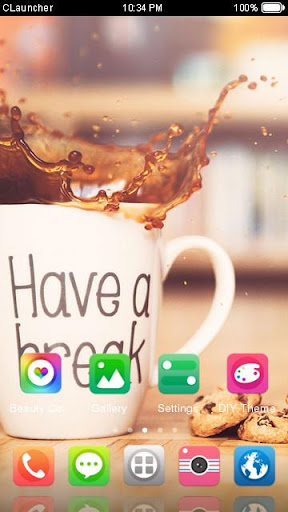 coffee break theme hd screenshot 3