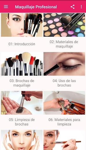 Maquillaje Profesional 2.10 Screenshots 1