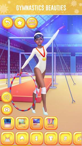 u2605 Gymnastics Games for Girls - Dress Up u2605 screenshots 6