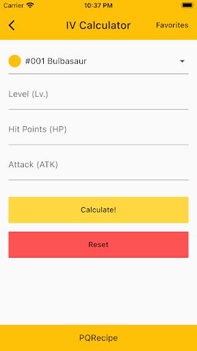 PQRecipe modavailable screenshots 1