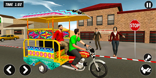 Chingchi Rickshaw Game:Tuk Tuk Parking Simulator screenshots 3