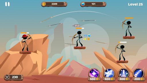 Mr. Archers: Archery game - bow & arrow 1.10.1 screenshots 14