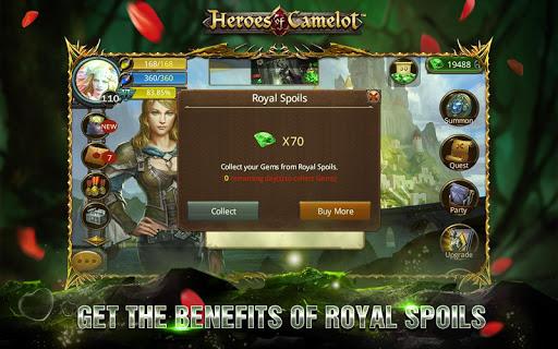 Heroes of Camelot 9.4.5 screenshots 8