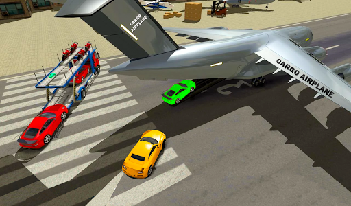 Airplane Car Transport Sim APK MOD Download 1