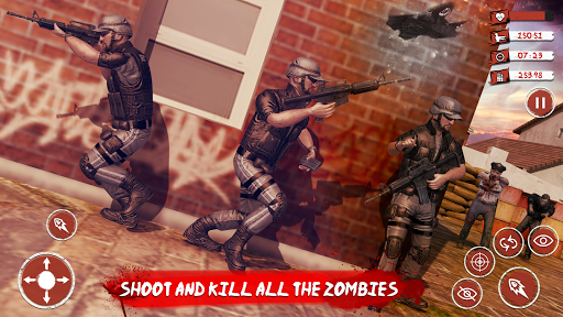 Zombie Target Dead Survival-Reddy Zombies Shooting modavailable screenshots 6