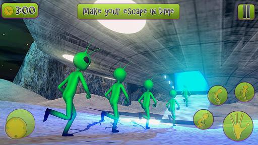 Green Alien Prison Escape Game 2021 android2mod screenshots 5