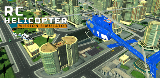 Screenshot of City Helicopter Flying Adventure 2020
