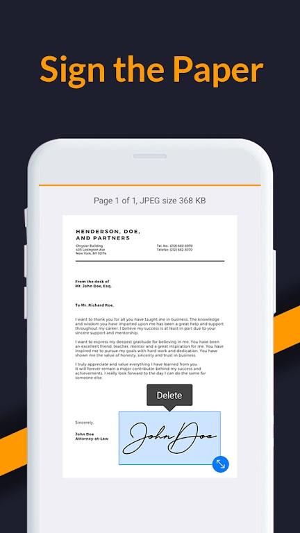 SoftScanner - Document Scanner & PDF Scanner App  poster 1