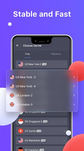 Fast VPN Proxy & Private Browser - ONE TAP VPN apktram screenshots 4