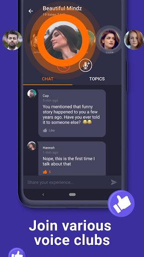 Wakie Voice Chat - Talk to Strangers 5.8.0 Screenshots 3
