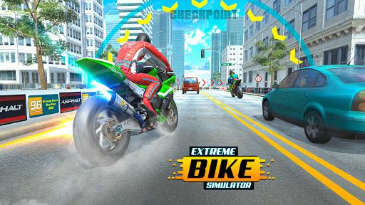 City Bike Driving Simulator-Real Motorcycle Driver android2mod screenshots 13