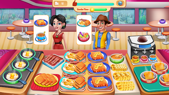 Chefu2019s Kitchen: Restaurant Cooking Games 2021 screenshots 12