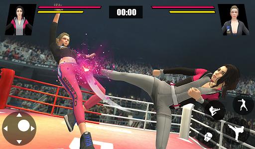 Women Wrestling Ring Battle: Ultimate action pack apkslow screenshots 15